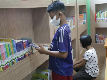 Perpustakaan di Jakpus Sudah Mulai di Kunjungi Warga