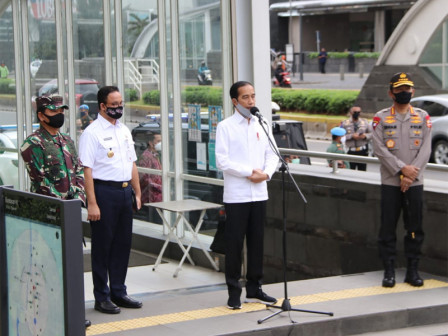 Anies: Discipline of Jakarta Residents Determines New Normal Transition