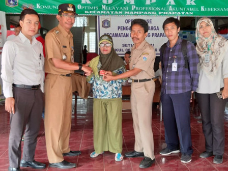 KPDJ Distributed to 109 People with Disabilities in Mampang Prapatan