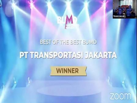 Transjakarta Sabet Lima Penghargaan BUMD Marketeers Awards 2021