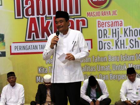 Djarot: Jakartans, Let's Hijrah