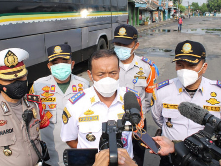 Homecoming Checkpoint in North Jakarta is Guarded for 24 Hours