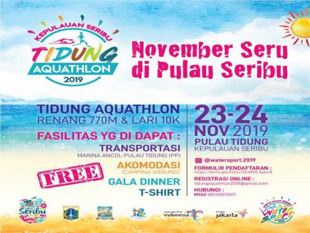 Tidung Aquathlon 2019 Registration is Open Today