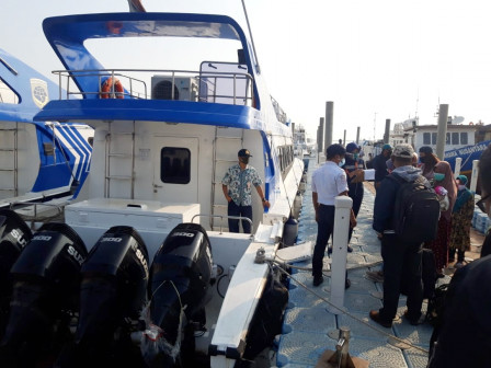 Dishub Turunkan Harga Tiket Kapal Untuk Penumpang Selama Pandemi Covid-19