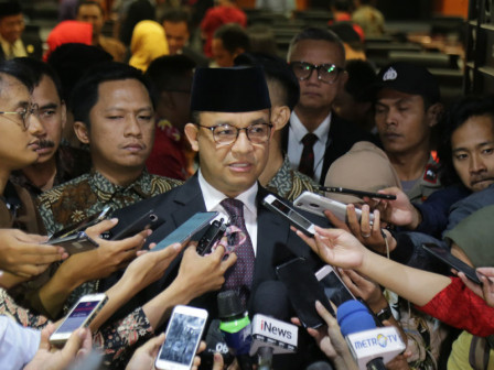 Anies Congratulates the Elected Definitive Leader of DPRD