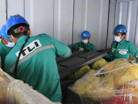 LH Agency Handles 1,231 Kilograms Disposable Masks Waste