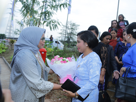 Jakarta TP PKK Leader Welcomes Timor-Leste's First Lady Visit