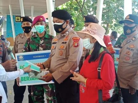 Sudin Parekraf Kepulauan Seribu Lakukan Pengawasan Prokes di Dermaga Marina Ancol