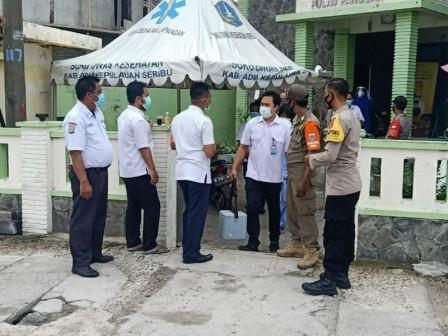 Puskesmas Kelurahan Pulau Panggang Mendapatkan Distribusi Vaksin Covid-19