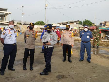 Dermaga Penyeberangan di Pelabuhan Kaliadem Diperketat Pengawasannya