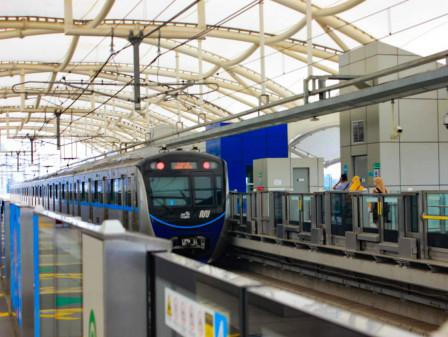 Tiga Stasiun MRT Ditutup Sementara