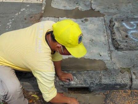 335 Titik Tali Air di Taman Sari Dipelihara Sepanjang Agustus 2021