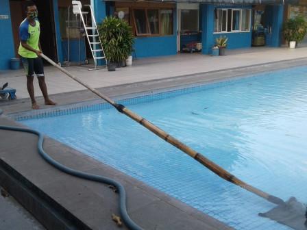 Selama PSBB, Fasilitas Olahraga di Jakarta Pusat Terawat Dengan Baik