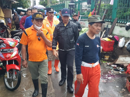 Cleanup Action, 810 Joint Personnel Deployed to Kedoya Utara
