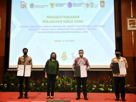 Pemulihan Ekonomi Nasional, Anies Tanda Tangani Perjanjian Kerja Sama Pemprov DKI Jakarta dengan PT