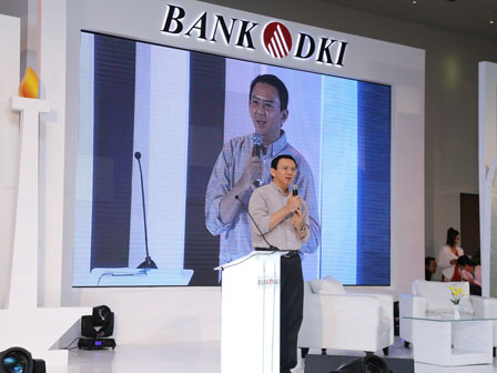 Ahok Minta Bank DKI Tambah Gerai ATM