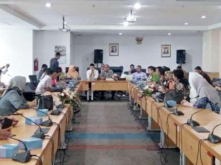 Councilors from Four Regions Carried Out Work Visit to Jakarta DPRD
