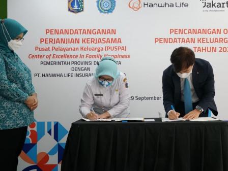 Pemprov DKI Lakukan Pencanangan Pusat Pelayanan Keluarga (PUSPA)
