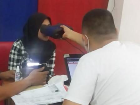 282 Warga Nikmati Layanan Jemput Bola Perekaman KTP di Makasar