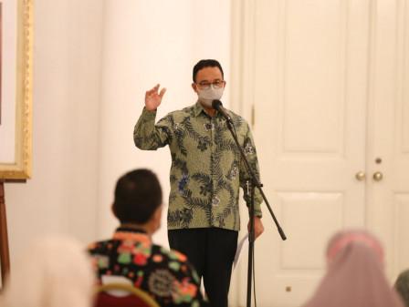 Gubernur Anies Ingin Kesejahteraan Muatahik Terjamin Selama Masa Pandemi