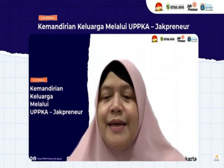Dinas PPAPP Berkolaborasi Adakan Webinar Kemandirian Keluarga