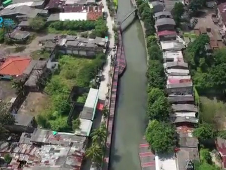 Dinas SDA - Kementerian PUPR Akan Normalisasi Kali Sunter di Cipinang Melayu