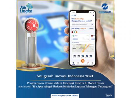 PT Transjakarta Raih Penghargaan Utama Inovasi Terbaik IDX Channel