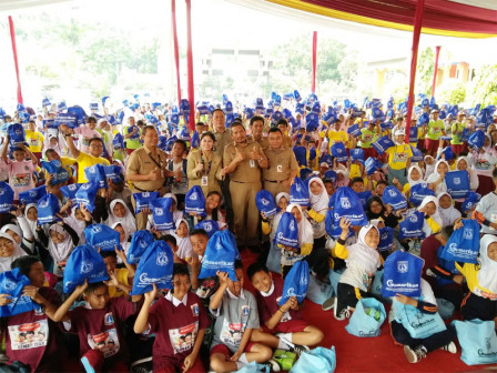 Gemarikan Campaign Given to 1,400 Elementary Students in Kramat Jati