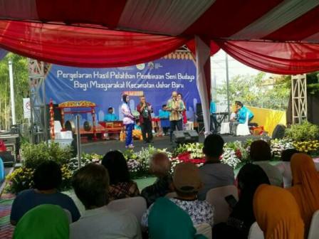Cultural Arts Performance Held in Johar Berseri RPTRA