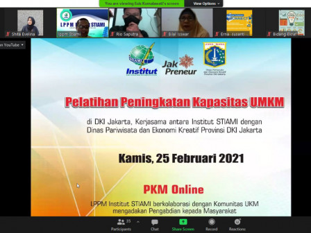 Parekraf Agency - STIAMI Holds Capacity Building for MSMEs