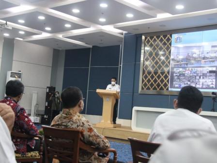 Buka Peluncuran Buku 'Si-Perisai', Wagub Ariza Harapkan Peningkatan Penyelenggaraan Sistem Pengendal