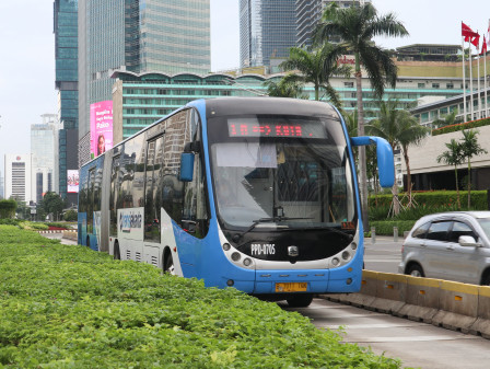 PT. Transjakarta Reopens Four Non-BRT Rusunawa Routes