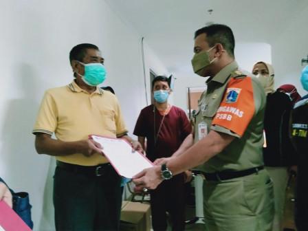 East Jakarta Mayor Monitors Vaccination at RSUK Duren Sawit