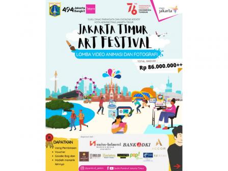 Jakarta Timur Art Festival 2021 Digelar Sudin Parekraf Jaktim