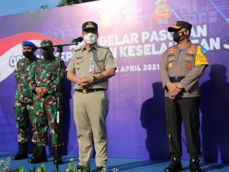 Pemprov DKI Jakarta Dukung Penuh Operasi Keselamatan Jaya 2021