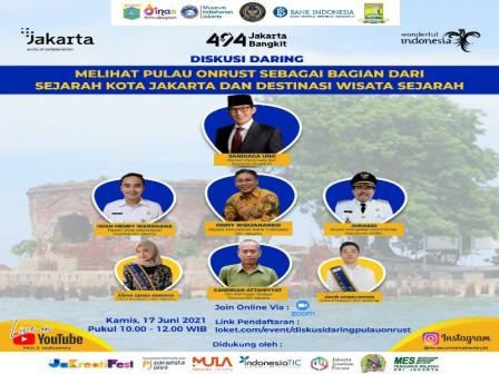 Peringati HUT Kota Jakarta UP Museum Kebaharian Jakarta Gelar Webinar Wisata Sejarah