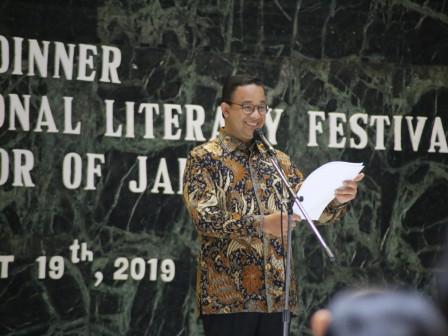 Malam Jamuan JILF 2019, Jakarta Siap Dukung Jejaring Antar Penulis Internasional