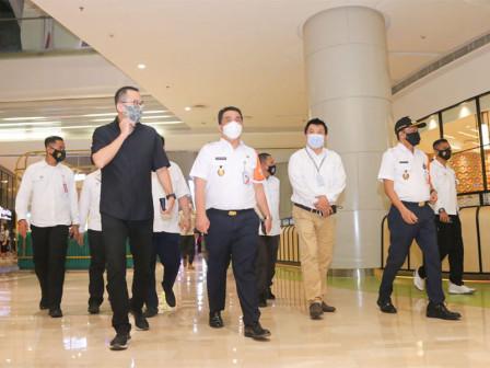 Sidak PSBB, Wagub Ariza Imbau Pelaku Usaha Disiplin Terapkan Pembatasan dan Protokol Kesehatan