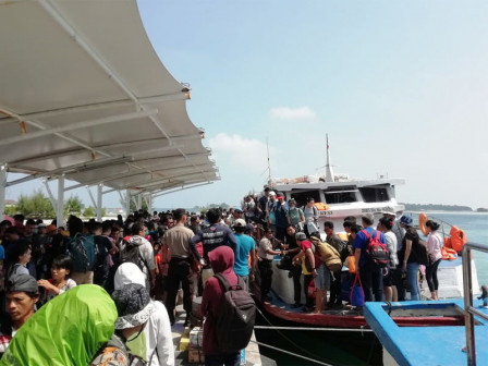 57,700 People Pack Thousand Islands Along Eid Holiday