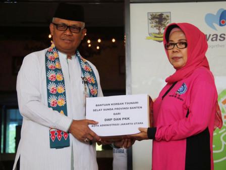 Aid Distributed to Victims of Sunda Strait Tsunami