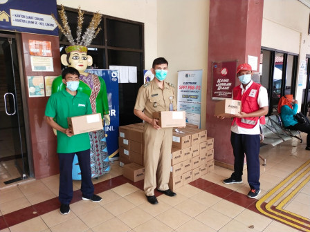 East Jakarta PMI Distributes 33,029 Food Supplements for Children