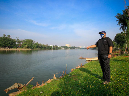 Sunter Selatan Reservoir Becomes Part of New Face of Jakarta