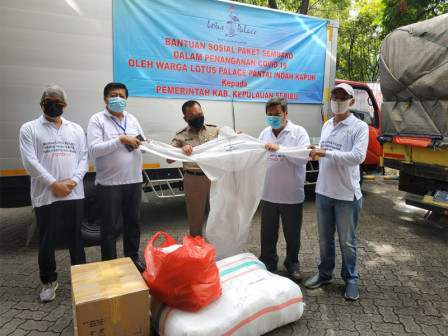 COVID-19, 10 Tons of Rice and Protective Gears Delivered to Thousand Islands