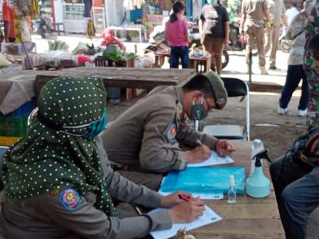 Mask Operation, 20 Residents Netted on Jl. Warakas