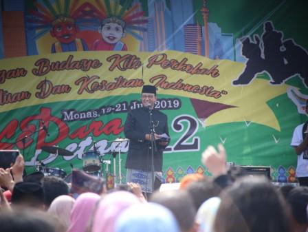Gubernur Hadiri Lebaran Betawi 2019