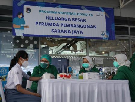 Sarana Jaya Sudah Vaksin 35 Ribu Orang