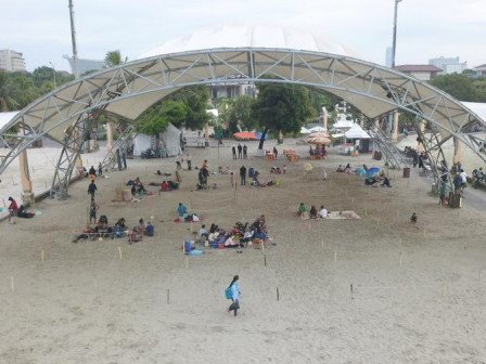Health Protocols Implementation is Optimized at Ancol Beach