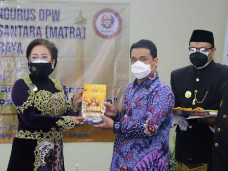 Pengukuhan DPW Matra Jakarta, Wagub Apresiasi Upaya Pelestarian Adat dan Budaya