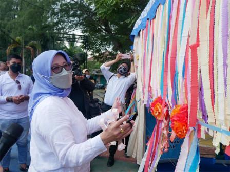 Dinas PPAPP DKI Jakarta Apresiasi Inovasi Layanan Drive Thru Sudin PPAPP Kepulauan Seribu