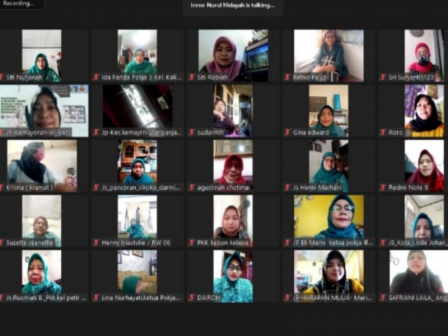 TP PKK DKI - Dinas KPKP Gelar Pelatihan Online Kudapan Sehat Bergizi yang Kekinian